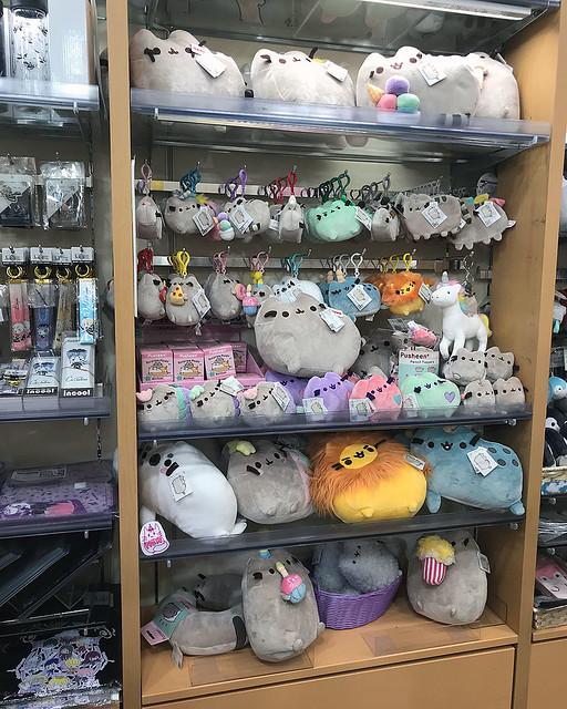 Pusheen plush at Kiddyland Tokyo Japan