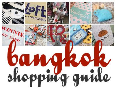 Bangkok Shopping Guide