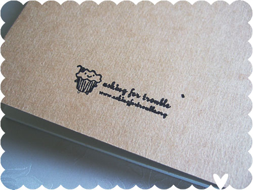 trouble stamp