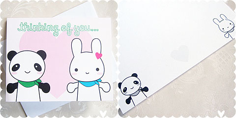 super cute kawaii cards