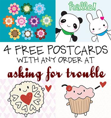 postcard offer