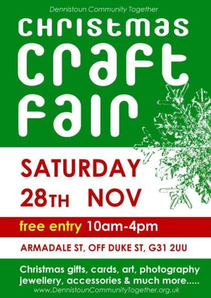 Christmas 2009 Craft Fair poster
