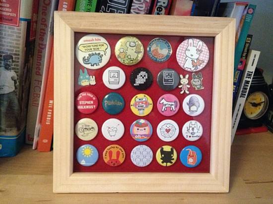 badge frame