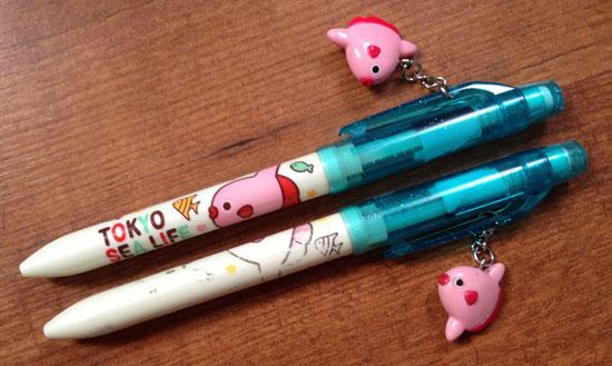 tokyo sea life park pen/pencil