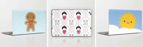 society6 laptop iPad skins