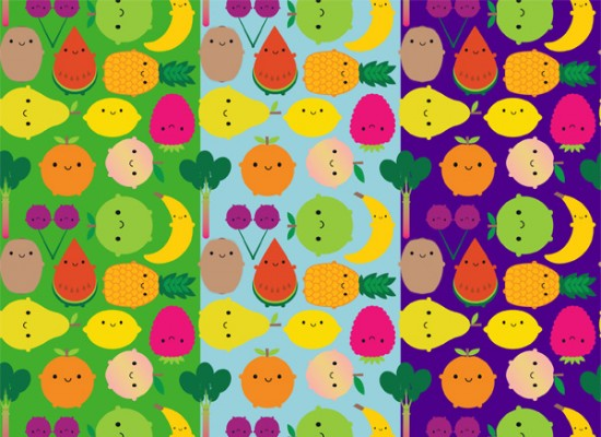 fruit bowl fabric