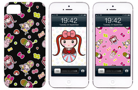 kyary iphone case and wallpaper