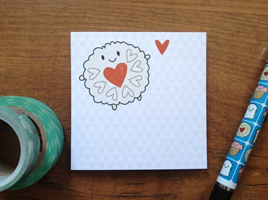 jammie dodger sticky notes