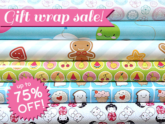 gift wrap sale