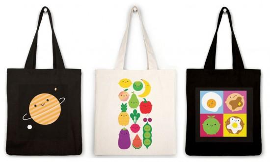 society6 tote bags
