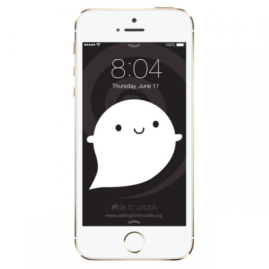ghost iphone wallpaper
