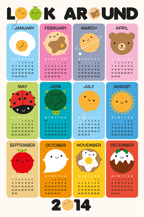asking for trouble 2014 calendar