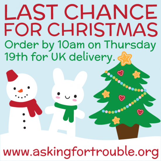 Last Chance For Christmas.Last Chance For Christmas Asking For Trouble
