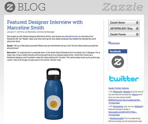 zazzle featured designer