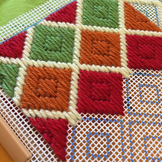 long stitch bargello pattern