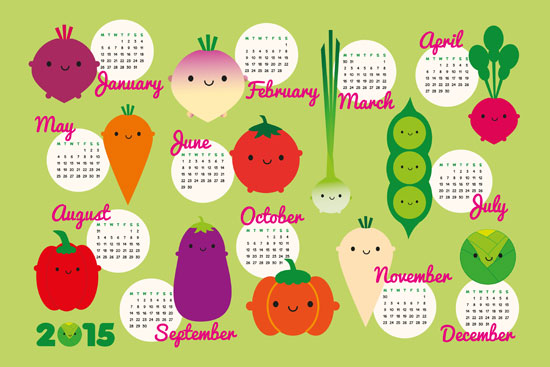 Cute Calendar Template 2015 Onweoinnovate