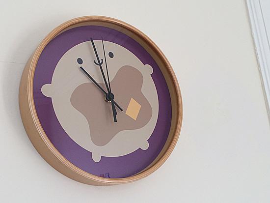 society6 clock