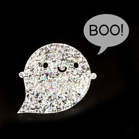 glitter ghost