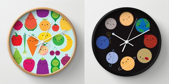 society6 clocks