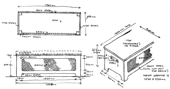 window seat plan