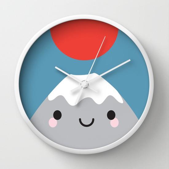 mt fuji clock