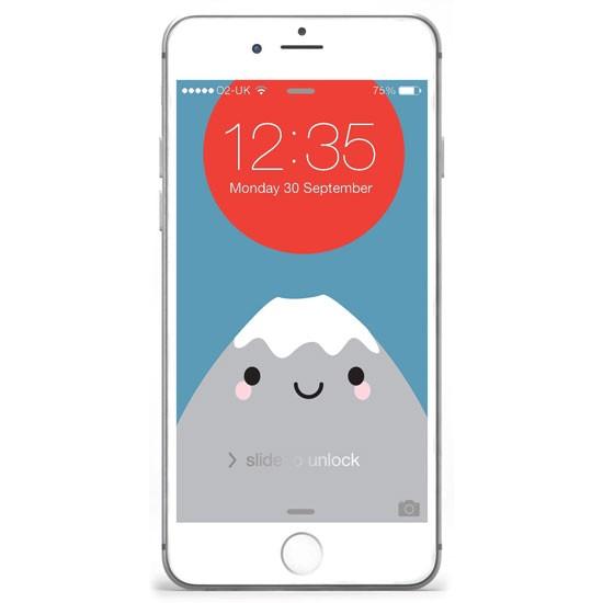 fuji iphone wallpaper