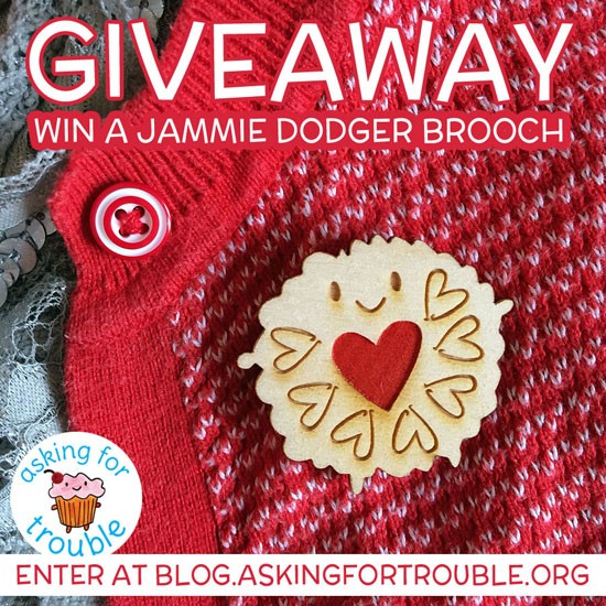 Jammie Dodger giveaway