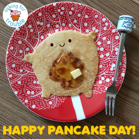 happy pancake day