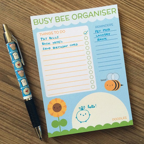 busy bee organiser