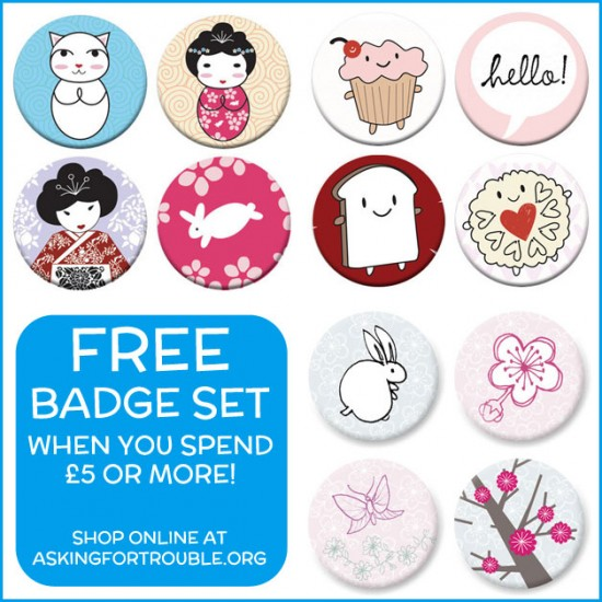 free badge sets