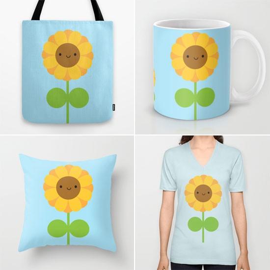 sunflower society6