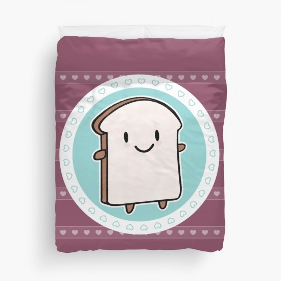 bread slice duvet