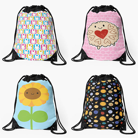 redbubble backpacks