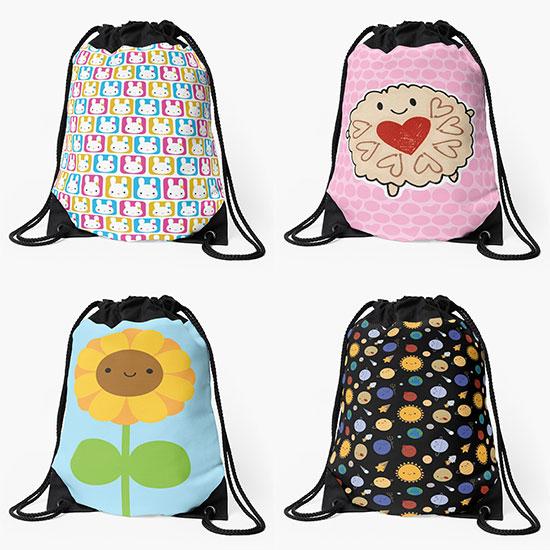 redbubble backpacks