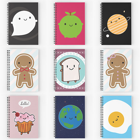 redbubble notebooks
