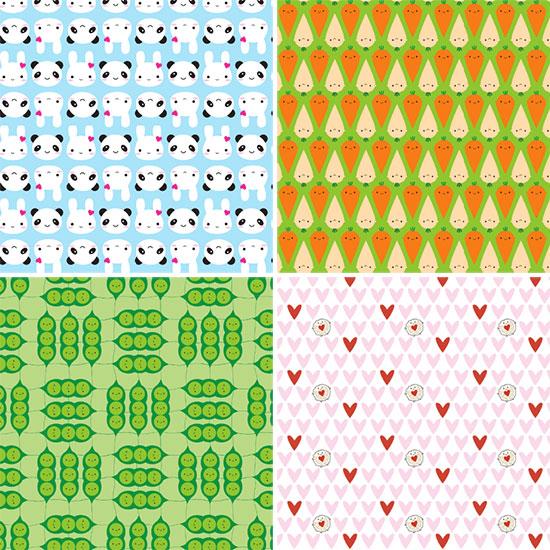 new spoonflower fabrics
