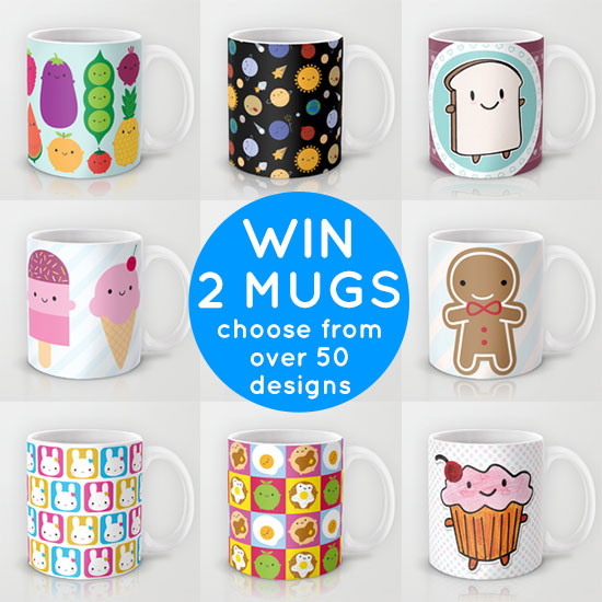 mugs giveaway