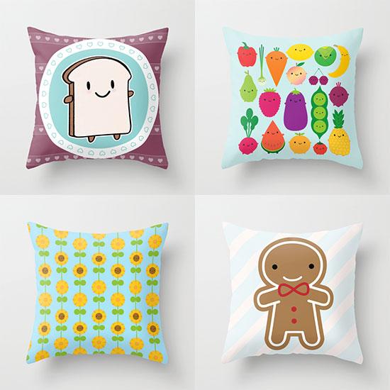 society6 throw pillows