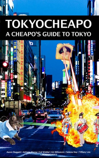 tokyo cheapo book