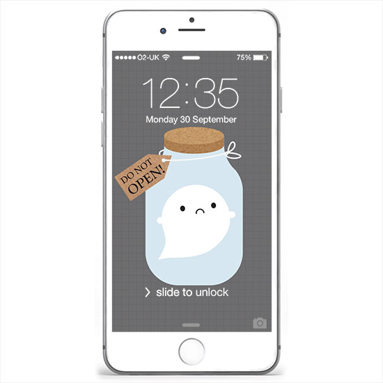iphone trapped ghost