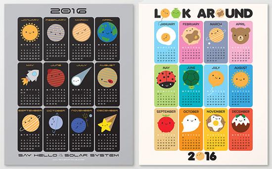 society6 calendars