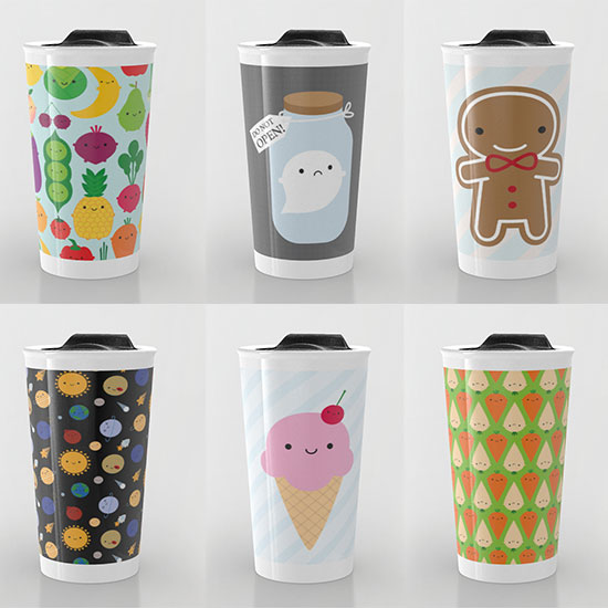 society6 travel mugs