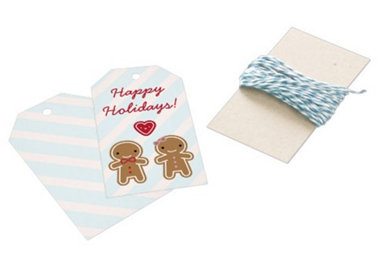 cookie cute gift tags