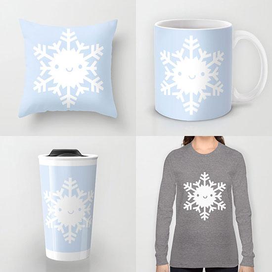 society6 snowflake