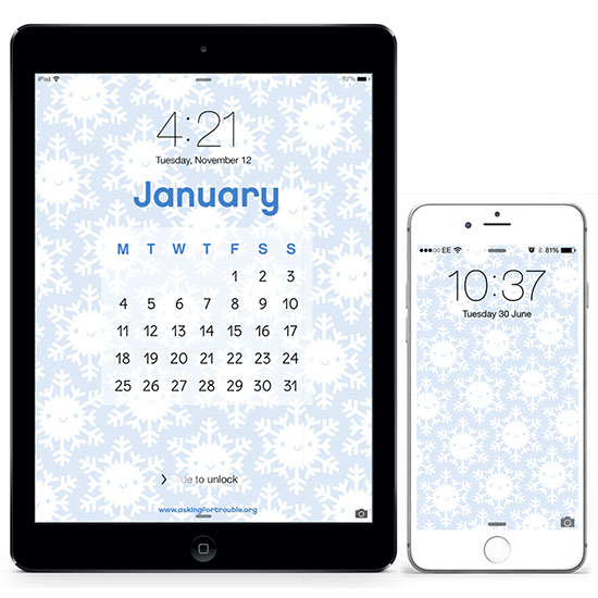 snowflake mobile wallpapers