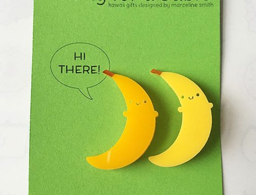 banana brooches