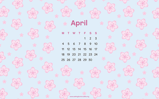 april 2016 wallpaper