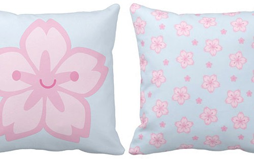 sakura pillows