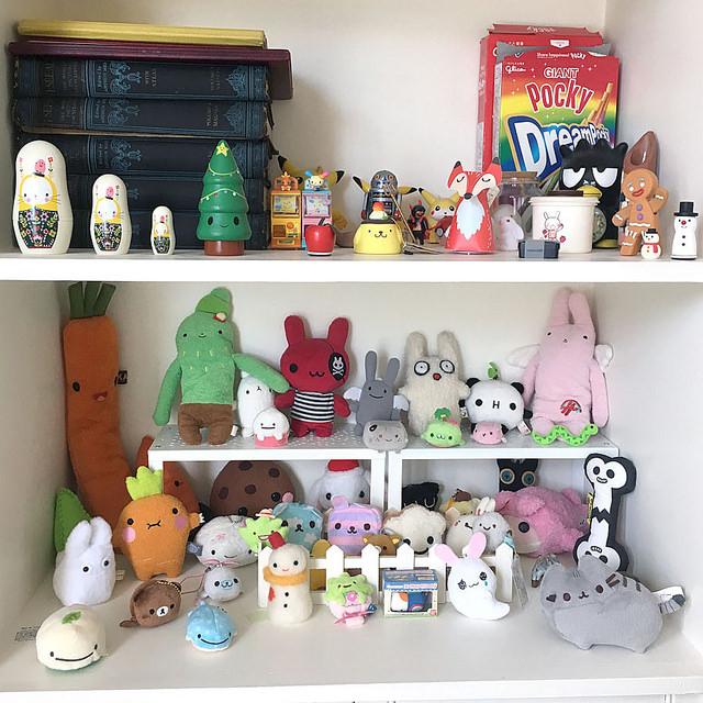 plush shelf