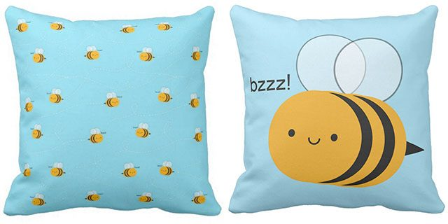 bee pillows